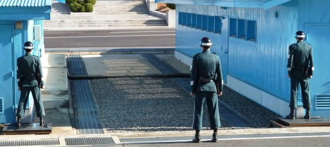 An die Grenze Nordkoreas und E-Sport Freuden