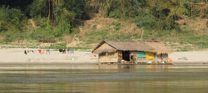 Auf dem Mekong nach Luang Prabang