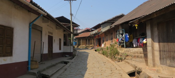 Phongsali: weiter in den Norden