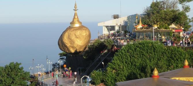 Goldener Fels und Mawlamyine