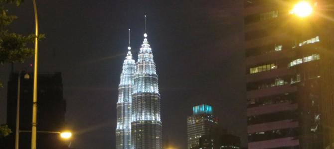Durchwachsene Tage in Malaysia