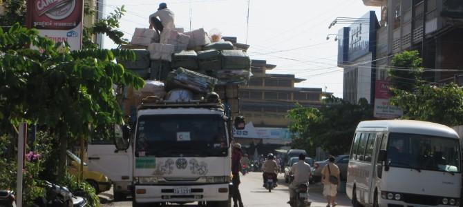 Sihanoukville und Battambang